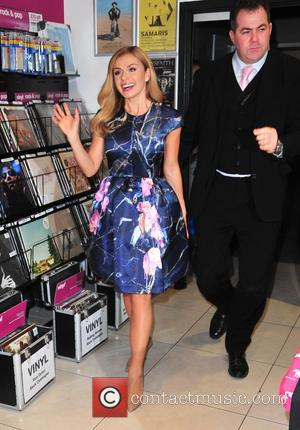 Katherine Jenkins - Katherine Jenkins signs copies of her new album 'Home Sweet Home' at HMV in the Manchester Arndale...