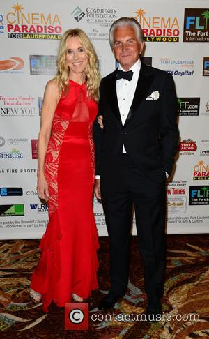 Alana Stewart and George Hamilton