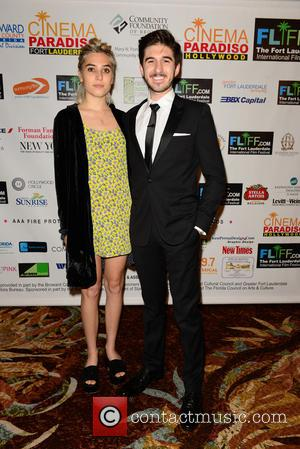 Clara Mamet and Erick Fleischman - Shots from the Fort Lauderdale International Film Festival Chairman's Awards Gala which was held...