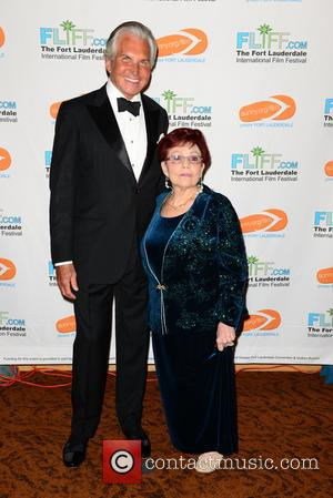George Hamilton and Linda Sherwood - Shots from the Fort Lauderdale International Film Festival Chairman's Awards Gala which was held...