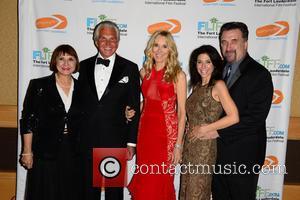 Guest, George Hamilton, Alana Stewart, Robin Hempel and Daniel Baldwin