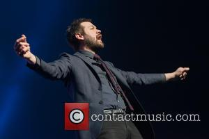 Tom Meighan and Kasabian - Kasabian perform at the First Direct Arena in Leeds at First Direct Arena - Leeds,...