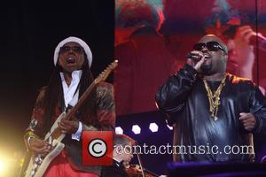Nile Rogers and Ceelo Green