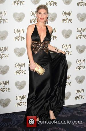 Hofit Golan - Chain of Hope's 2014 Gala Ball at the Grosvenor House hotel - Arrivals at Grosvenor Hotel Park...
