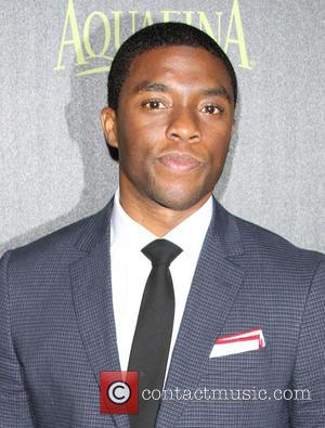 Chadwick Boseman - The Hollywood Foreign Press Association and InStyle Celebrate the 2015 Golden Globe Award Season held at Fig...