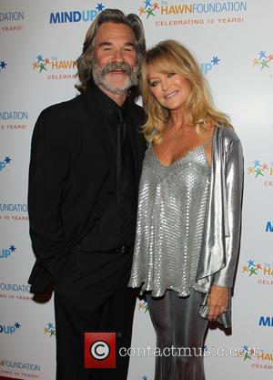 Kurt Russell and Goldie Hawn - Goldie Hawn's Inaugural