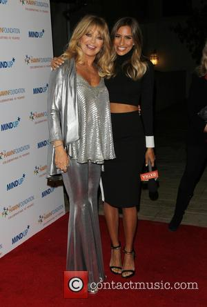 Goldie Hawn and Renee Bargh