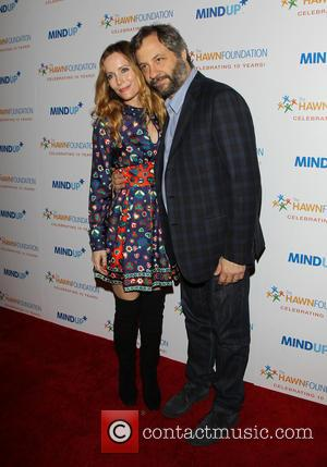 Leslie Mann and Judd Apatow