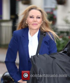 Carol Vorderman - Carol Vorderman outside ITV Studios - London, United Kingdom - Friday 21st November 2014