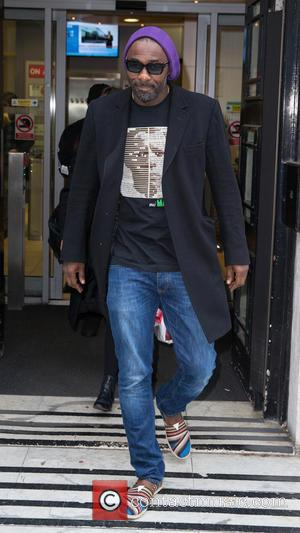 Idris Elba - Celebrities at the BBC Radio 2 Studios at BBC Portland Place - London, United Kingdom - Friday...