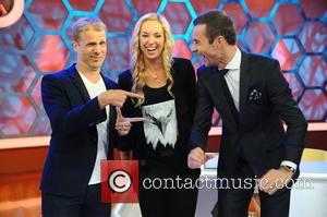 Oliver Pocher, Sabine Lisicki and Kai Pflaume