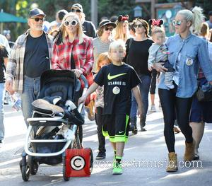 Gwen Stefani, Kingston Rossdale and Apollo Rossdale
