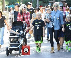 Gwen Stefani, Kingston Rossdale, Zuma Rossdale and Apollo Rossdale