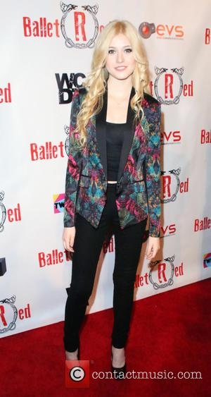 Katherine McNamara - Photographs as the contemporary ballet company 'Ballet RED' appeared for a one night only show at The...