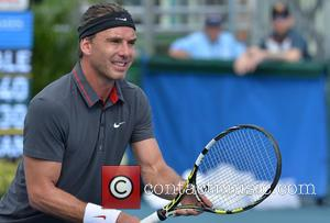 Gavin Rossdale - 25th Annual Chris Evert and Raymond James Pro-Celebrity Tennis Classic held at the Delray Beach Tennis Center...