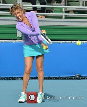 Hoda Kotb - 25th Annual Chris Evert and Raymond James Pro-Celebrity Tennis Classic held at the Delray Beach Tennis Center...