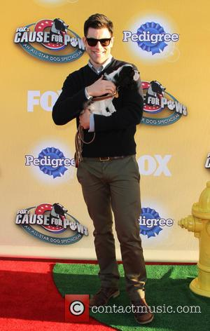 Max Greenfield - Photographs of a host of stars and their dogs as they attended 'Cause For Paws: An All-Star...