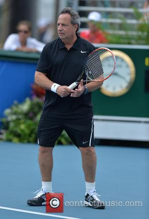 Jon Lovitz - 25th Annual Chris Evert and Raymond James Pro-Celebrity Tennis Classic - Day 2 at Delray Beach Tennis...