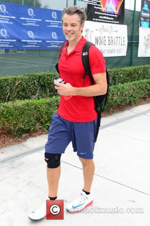Timothy Olyphant - 25th Annual Chris Evert and Raymond James Pro-Celebrity Tennis Classic - Day 2 at Delray Beach Tennis...