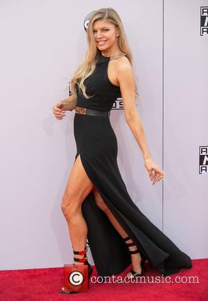 Fergie - Photographs of a wide variety of stars from the music industry as they attended the American Music Awards...