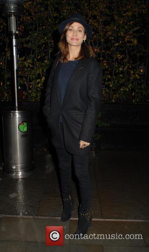 Natalie Imbruglia - Celebrities arrive at Chiltern Firehouse restaurant in Marylebone - London, United Kingdom - Sunday 23rd November 2014