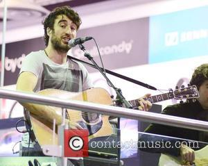 The Coronas - Danny O'Reilly - The Coronas signing and performance at HMV Dundrum - Dublin, Ireland - Sunday 23rd...