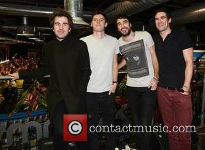 The Coronas, Conor Egan, Danny O'reilly and Dave Mcphillips