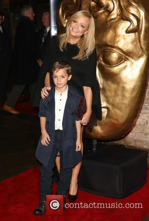 Emma Bunton and Son Tate