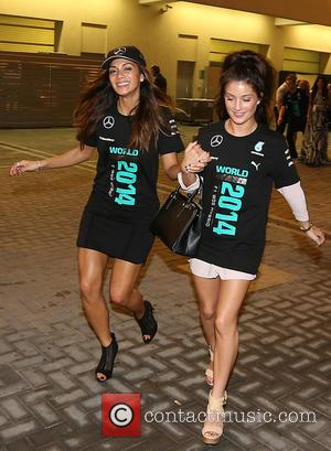 Nicole Scherzinger - Shots from the 2014 Abu Dhabi Formula 1 Grand Prix which was held at the Yas Marina...