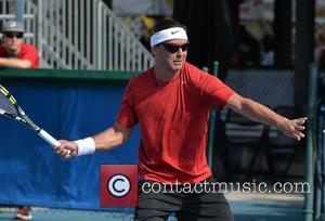 Gavin Rossdale - Shots of the action on the third day at the 25th Annual Chris Evert and Raymond James...