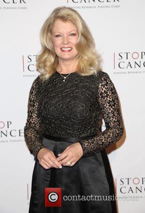Mary Hart - Shots of a host of stars as they attended the Stop Cancer Annual Gala which was held...