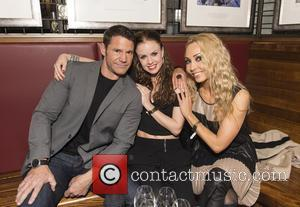 Steve Backshall, Joanne Clifton and Iveta Lukosiute