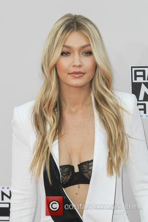 Gigi Hadid - Photographs of a wide variety of stars from the music industry as they attended the American Music...