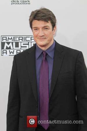 Nathan Fillion - Photographs of a wide variety of stars from the music industry as they attended the American Music...