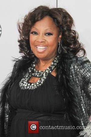 Star Jones - Photographs of a wide variety of stars from the music industry as they attended the American Music...