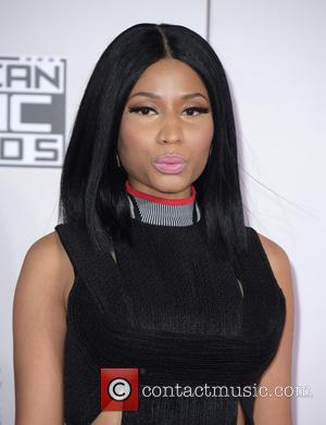 Nicki Minaj - Photographs of a wide variety of stars from the music industry as they attended the American Music...