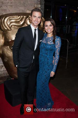 Samantha Barks and Richard Fleeshman - Shots from the red carpet as a variety of celebrities arrived at the British...