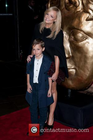 Emma Bunton and Beau Lee Jones - Shots from the red carpet as a variety of celebrities arrived at the...