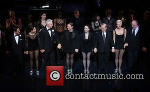 Christopher Fitzgerald, Bianca Marroquin, James Naughton, Ann Reinking, Bebe Neuwirth, Joel Grey, Amra-faye Wright and Raymond Bokhour