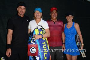 Gavin Rossdale, Martina Navratilova, Jon Lovitz and Chris Evert