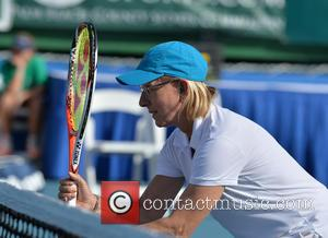 Martina Navratilova - Shots of the action on the third day at the 25th Annual Chris Evert and Raymond James...