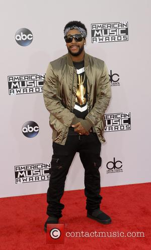 Omarion - Photographs of a wide variety of stars from the music industry as they attended the American Music Awards...