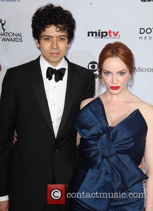 Geoffrey Arend and Christina Hendricks - Shots from red carpet as a host of stars arrived at the 2014 International...