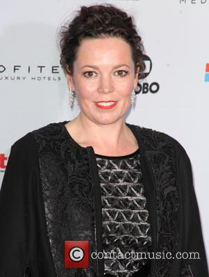 Olivia Colman - Shots from red carpet as a host of stars arrived at the 2014 International Academy Of Television...