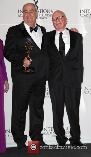 Roberto Irineu Marinho and Rupert Murdoch