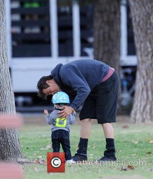Josh Duhamel and Axl