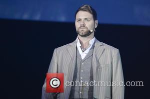 Brian McFadden - Shots from the last rehearsal of Jeff Wayne's musical version of 'War of the Worlds' before it...