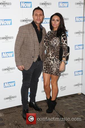 Antony Costa and Rosanna Jasmin - Grace AndrewsNow Magazine Christmas Party at the Drury Club - Arrivals - London, United...