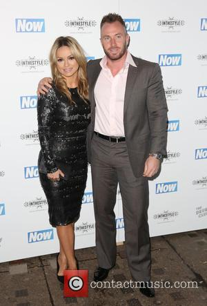 Ola Jordan and James Jordan - Now Magazine Christmas Party at the Drury Club - Arrivals - London, United Kingdom...