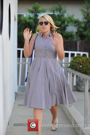 Busy Philipps - Busy Philipps wearing a lilac dress leaves a nail salon - Los Angeles, California, United States -...